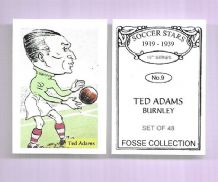 Burnley Ted Adams 9 (FC)
